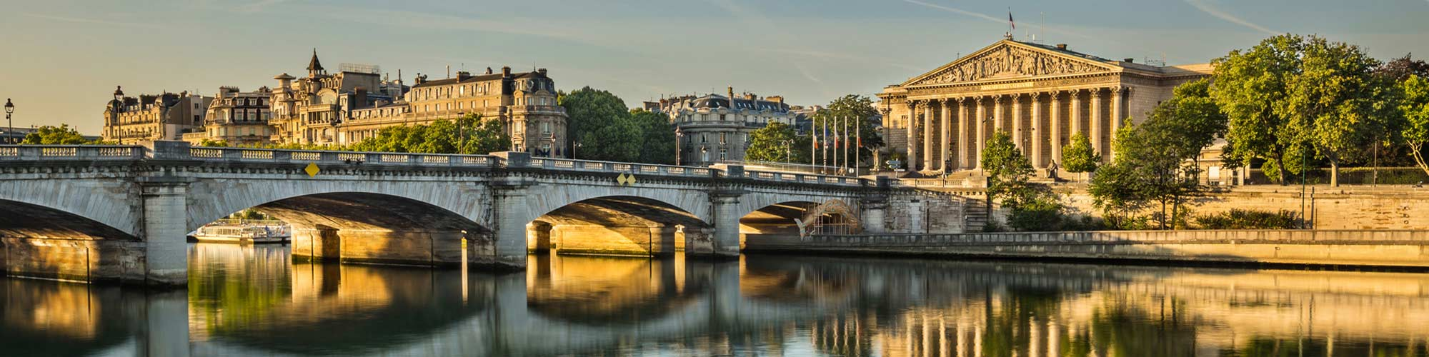 View of the Seine river - Central Paris